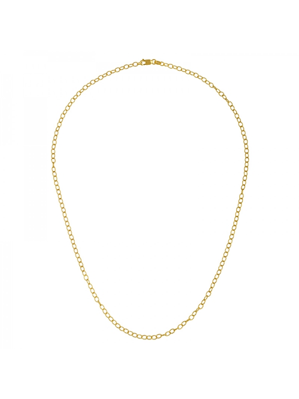 14KT Necklace Yellow 2.9MM