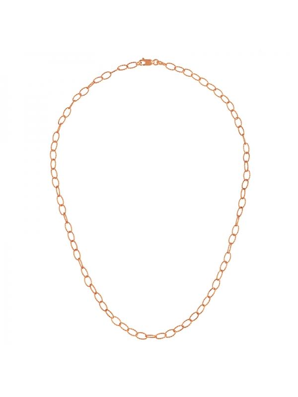 14KT Necklace Pink 4.4MM