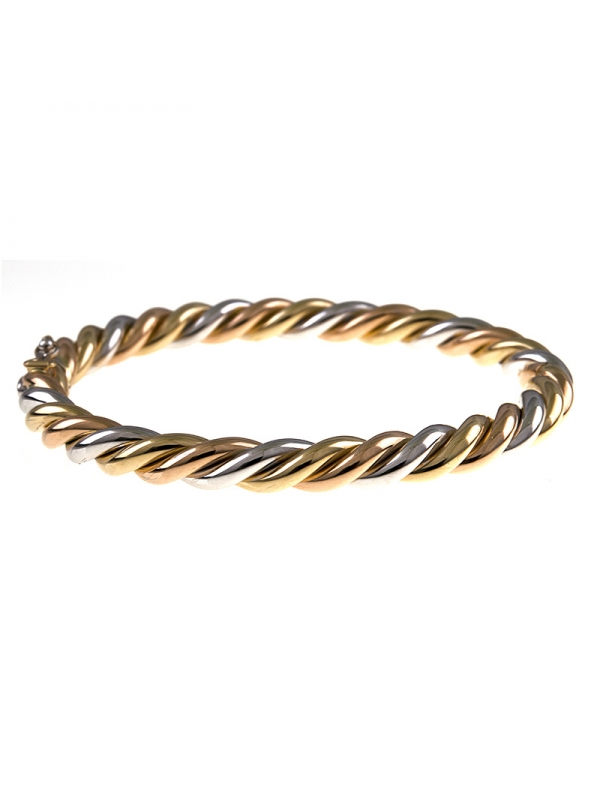14KT Yellow Sprial 6mm