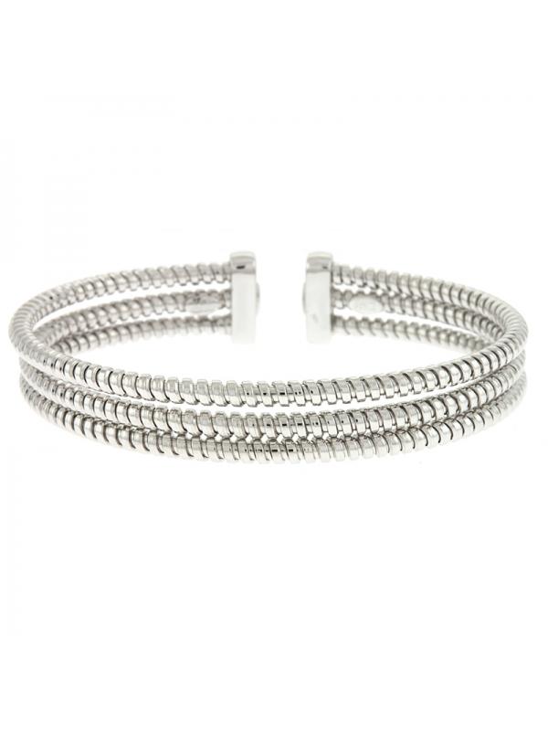 Silver Cuff 3-Rows