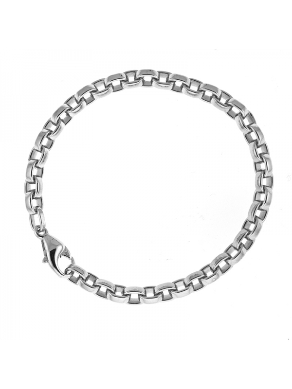 Silver Flat Oval Link 5.7mm