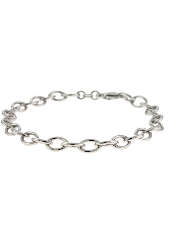 Silver Oval Link 6.0mm