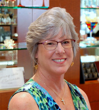 Meet Michele Jones, who loves jewelry and is an integral part of team affinity.