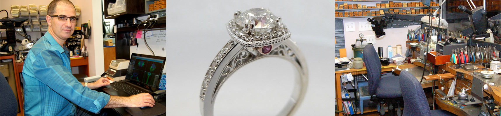 Affinity & Co Jewelers offers custom design services for your engagement rings.