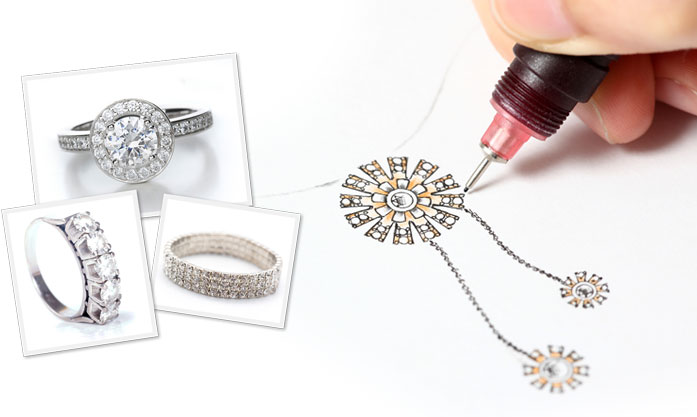Our designers at Affinity & Co Jewelers can work with you to help you create the perfect engagement ring.