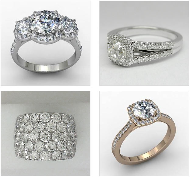 Affinity & Co Jewelers offers a wide variety of unique designs for your engagement ring, and can also create a custom design for your ideal ring.