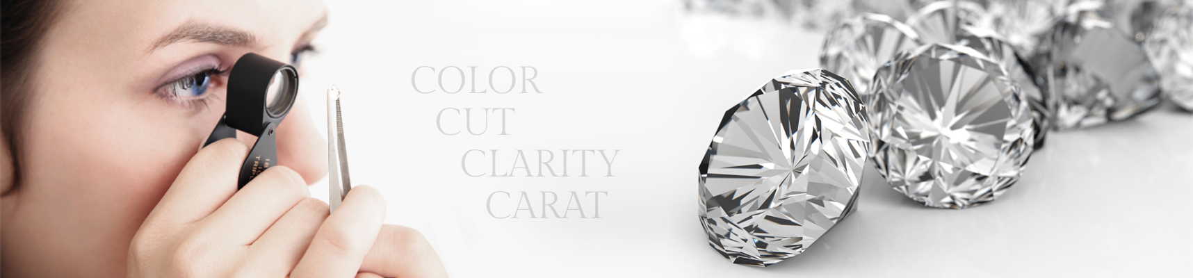 Learn more about the 4 C's of Diamonds: Color, Cut, Clarity, and Carat.